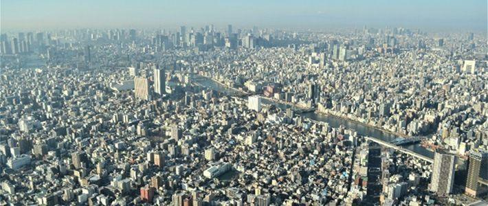 كيف أصبحت طوكيو هذه المدينة الضخمة Nippon Com