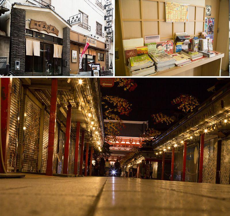 日本仲见世商业街_来东京,住日式房:5家日本风情洋溢的榻榻米旅馆   Nippon.com