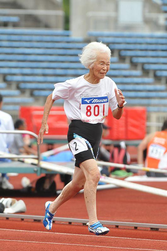 Aged Athletics: Seniors Show a Surprising Turn of Speed   Nippon com