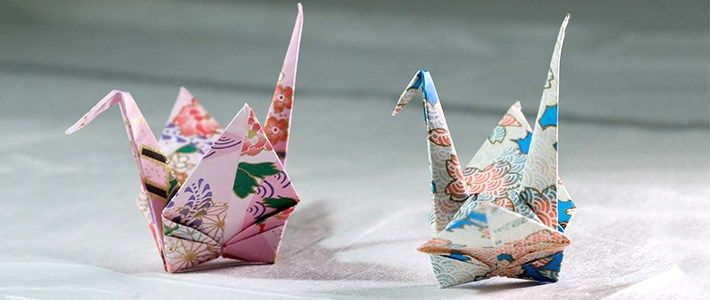 Making Adorably Small Origami Paper Cranes - Ripley's Believe It ... | 300x710
