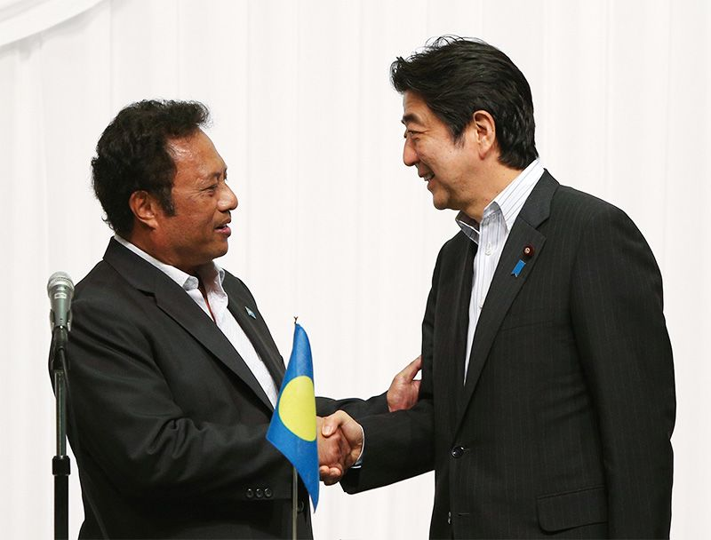 "Palau and Japan Are Like Brothers"": An Interview with President"