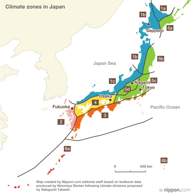 The Japanese Climate Nippon Com