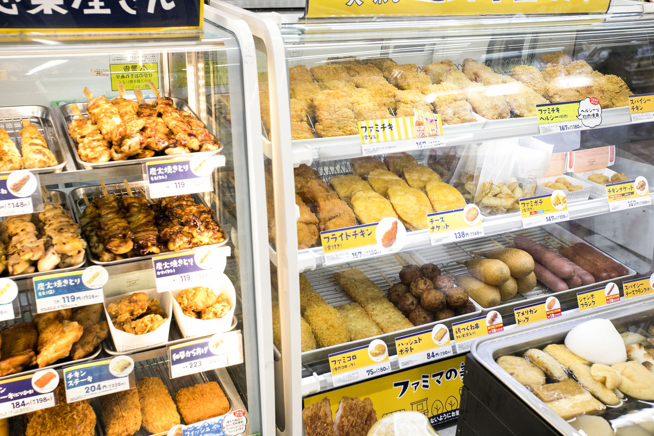 Seven Eleven Stores Food Warmers