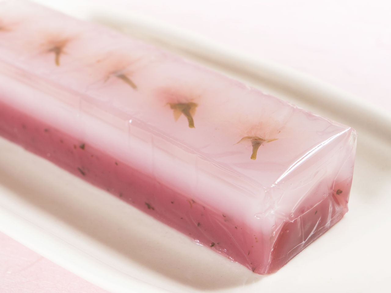 Yamazakura Yōkan is a sweet slice of spring for your dessert plate.