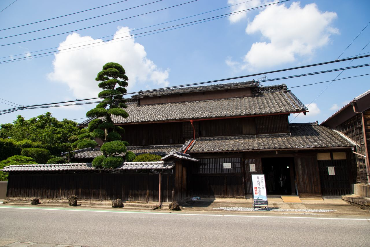 The home where Odaka Junchū was born, probably built by his great-grandfather in the late Edo period.