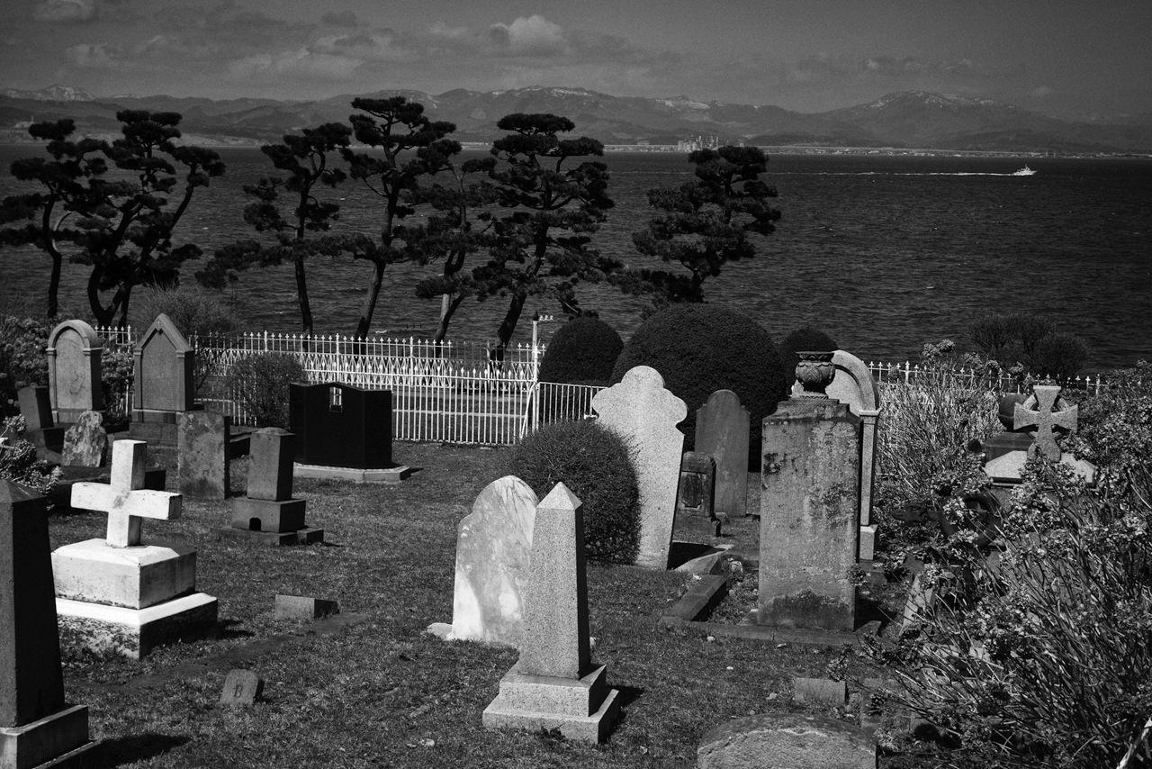 Kerinduan akan rumah: Pemakaman Umum Asing. (2019)
