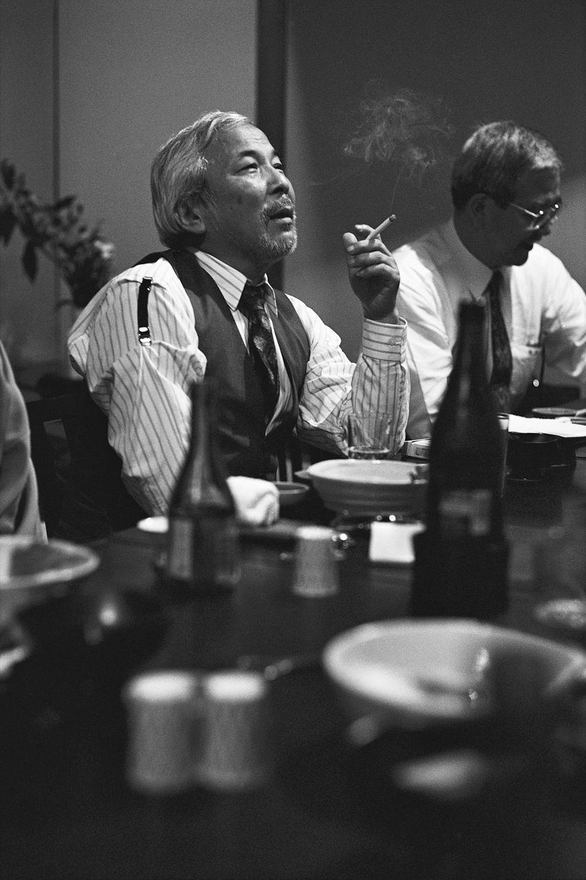 Nishibe Susumu. (Hakodate, 1992)