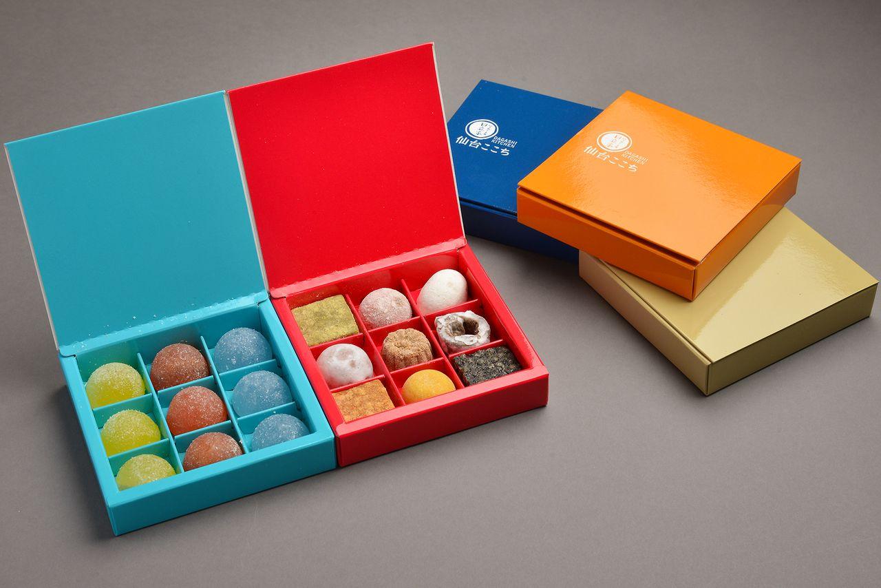 Kotak musiman Sendai Kokochi Kiyose masing-masing seharga ¥ 750.