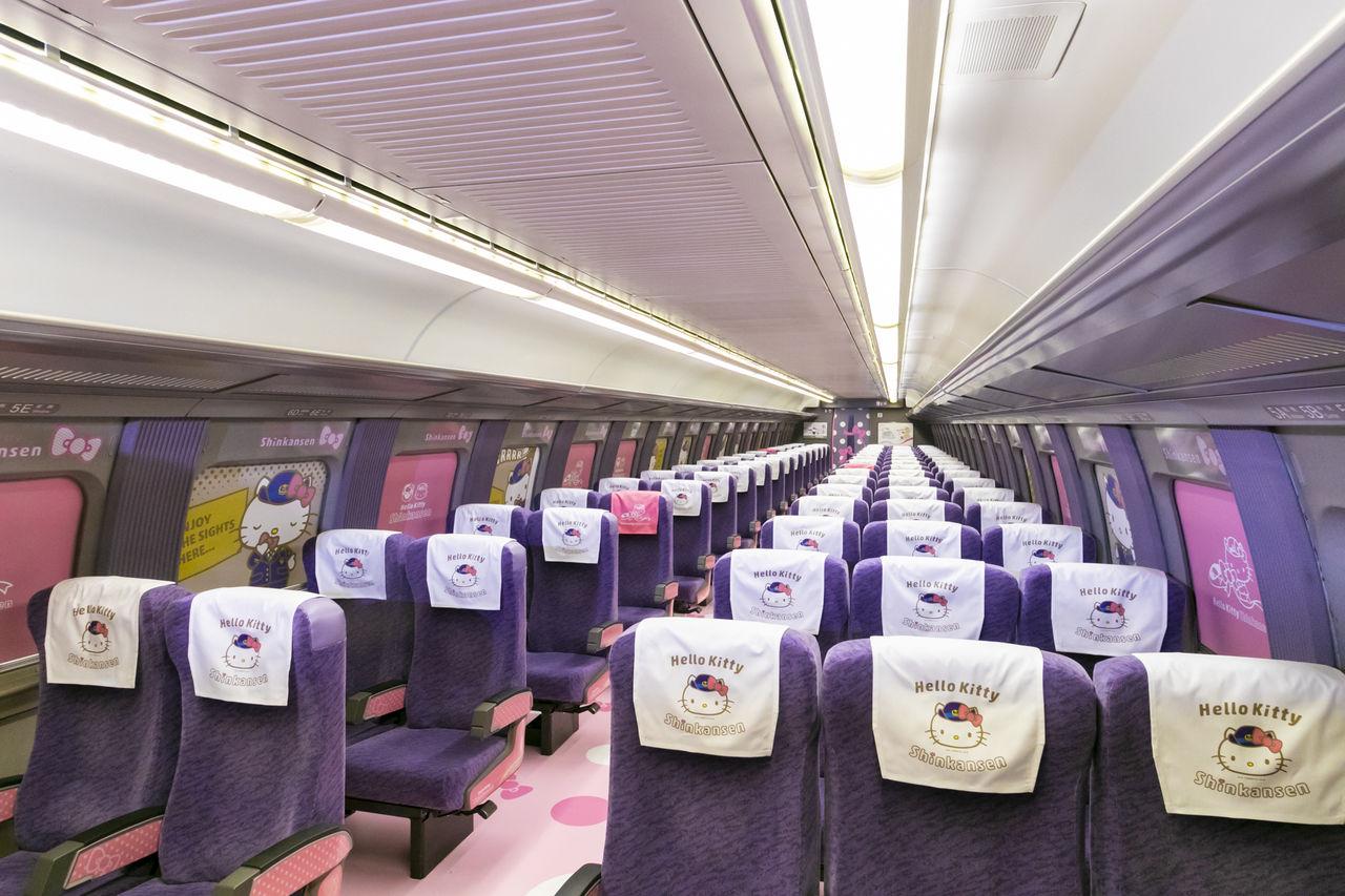 5b1701539 Introducing the Hello Kitty Shinkansen, Japan's Cutest High-Speed ...
