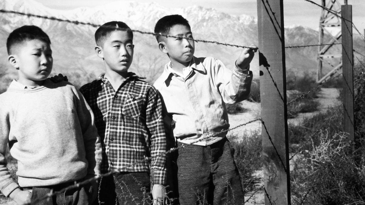 Japanese Internment Camp Manzanar California  WW2 World War Two WWII Photo