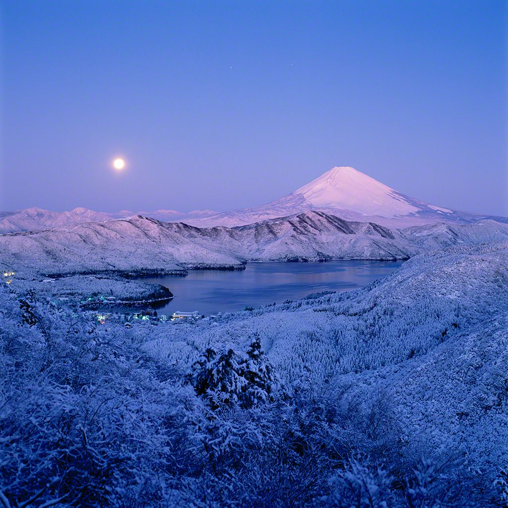 View from Hakone (January)
