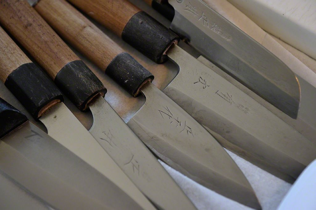 These knives are Kondō Fumio's most prized possessions.