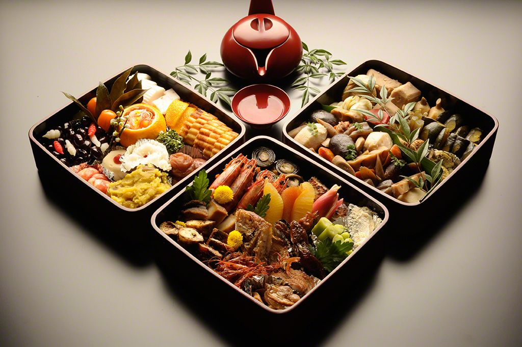 "A complete ""osechi"" meal takes roughly 20 days to prepare."