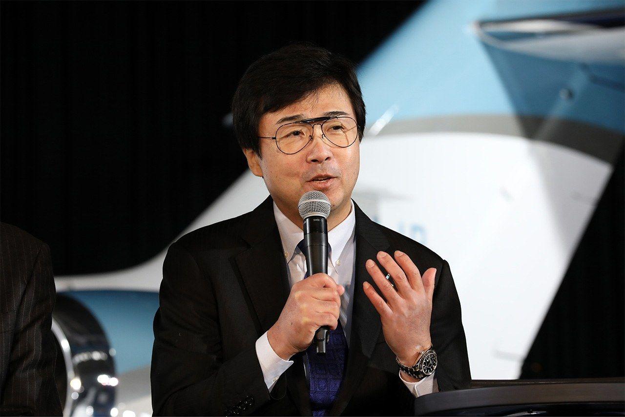 Fujino Michimasa, president of Honda Aircraft Company. (Photo courtesy of Honda)