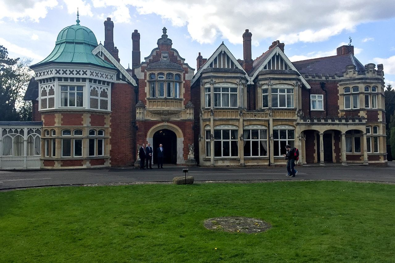 Bletchley Park, where Five Eyes originated. (Photo by the author)