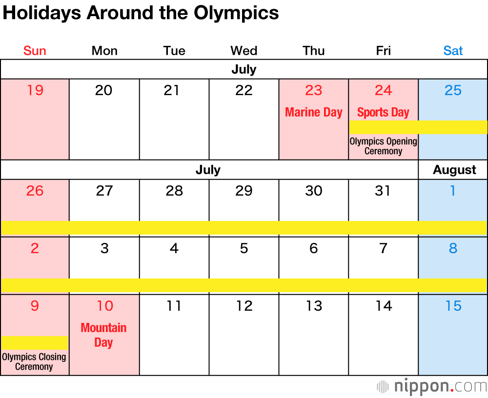 4 Days On 3 Days Off Work Schedule japan's national holidays in 2020 | nippon