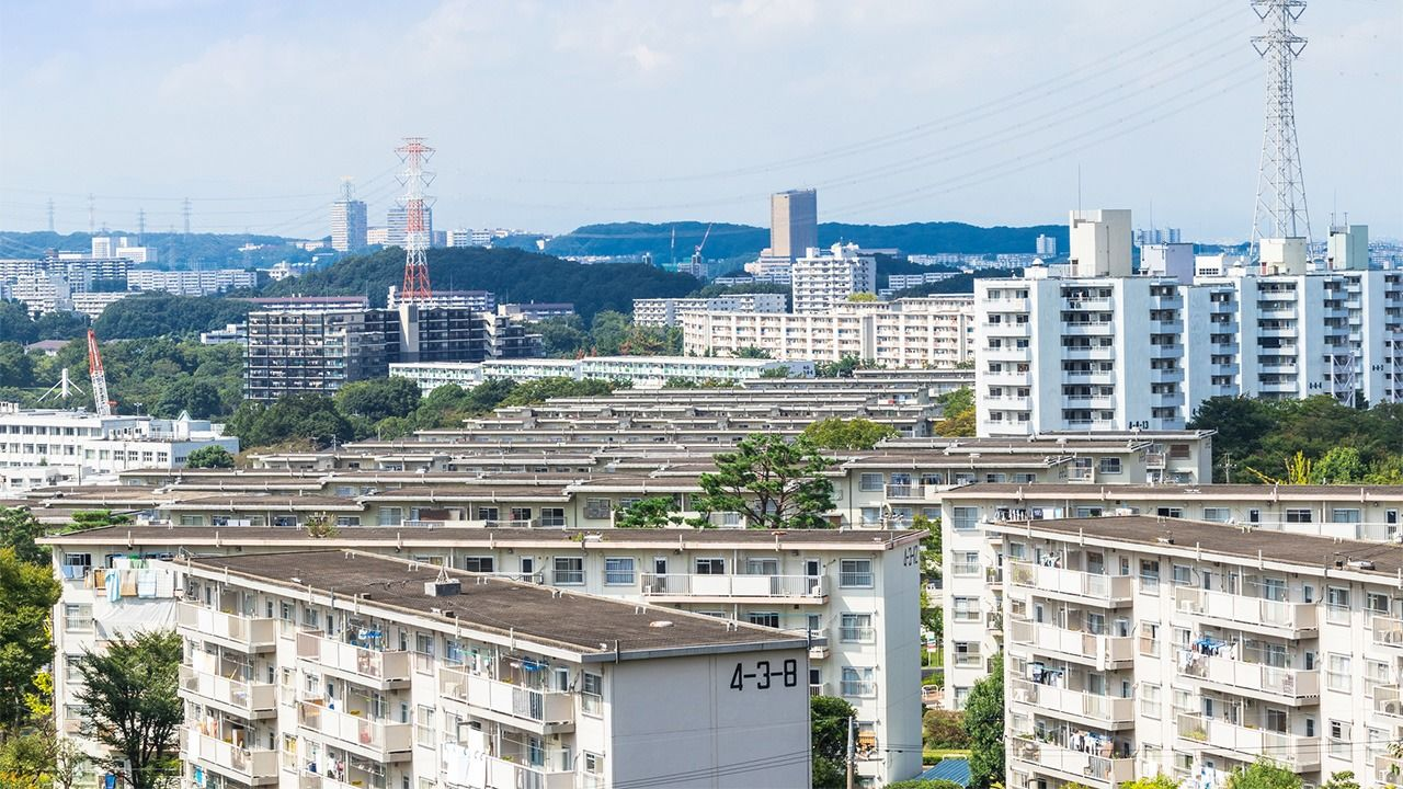 """The Aging of Japan's """"New Town"""" Public Housing Complexes"""
