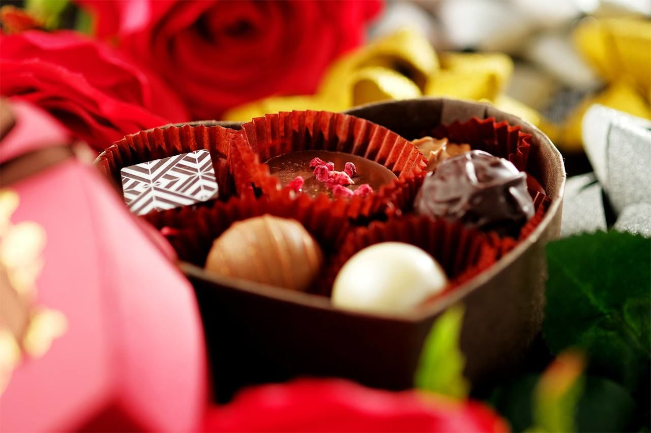 Valentine's Day is all about chocolates in Japan.