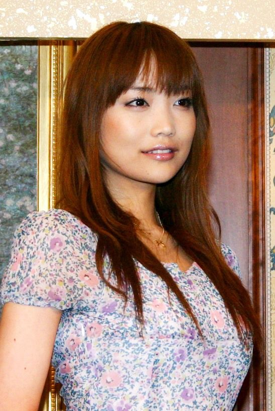 Satō Eriko, in a photo taken in August 2005. (© Jiji)