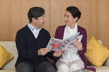 Crown Prince Naruhito and Crown Princess Masako. (Courtesy the Imperial Household Agency)
