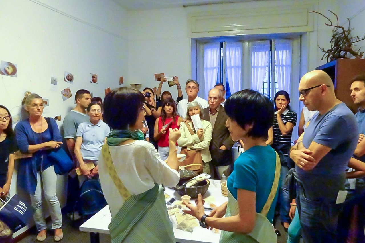 Our kanbutsu workshop in Milan was a major success.