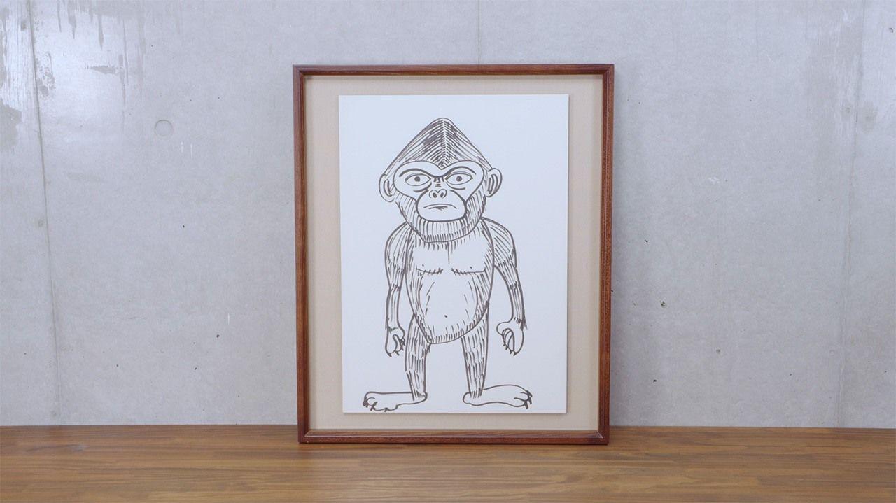Sugaya menciptakan maskot untuk band The Cro-Magnons, makhluk tak dikenal bernama Takahashi Yoshio. Film dokumenter tersebut menceritakan kisah di balik kelahiran sang karakter. (© 2020 Epokku no atorie Production Committee)