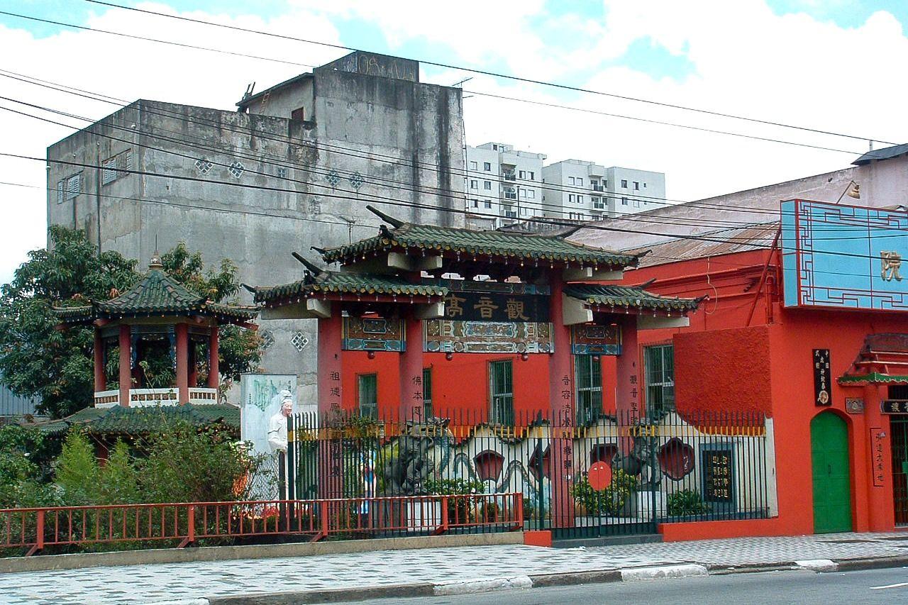 Kuil Cina di Jalan Conselheiro Furtado.