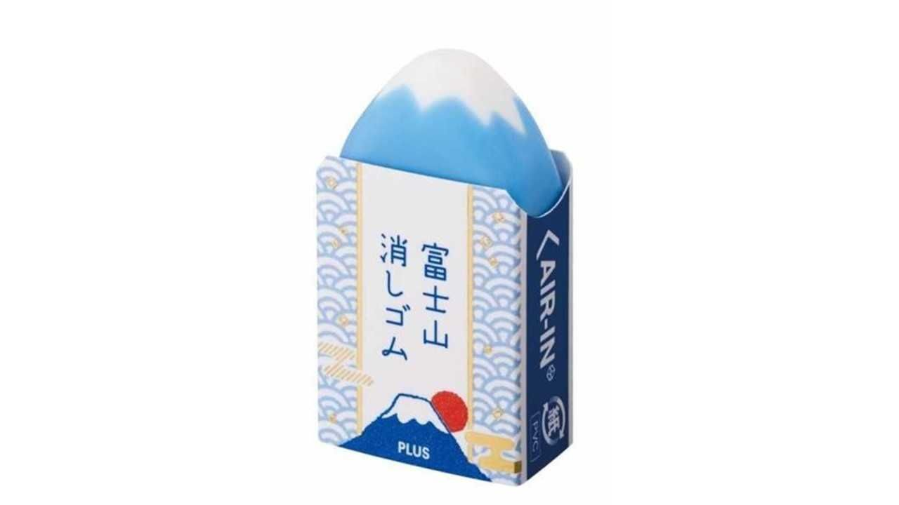 The Extraordinary Mount Fuji Eraser