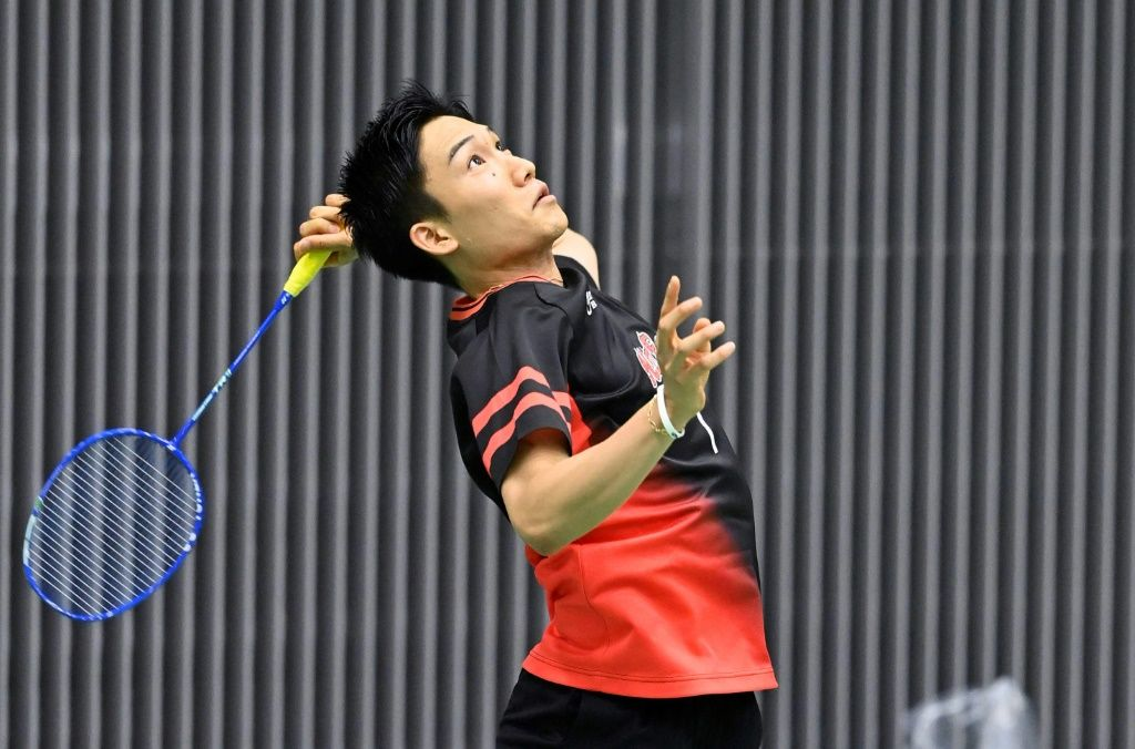 Japan's World number one Kento Momota won his first match on the world tour for 14 months. Yohei Nishimura/POOL/AFP/File