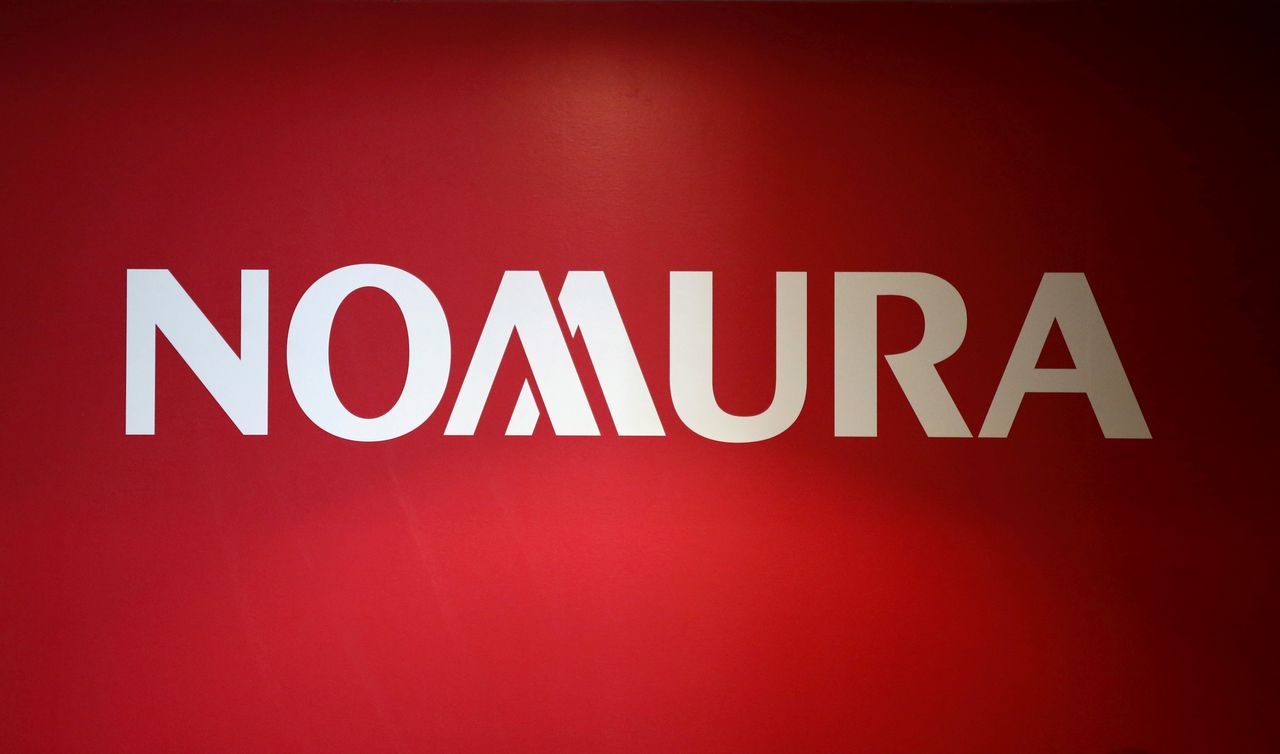 FILE PHOTO: A logo of Nomura Holdings is pictured in Tokyo, Japan, December 1, 2015. REUTERS/Toru Hanai/File Photo
