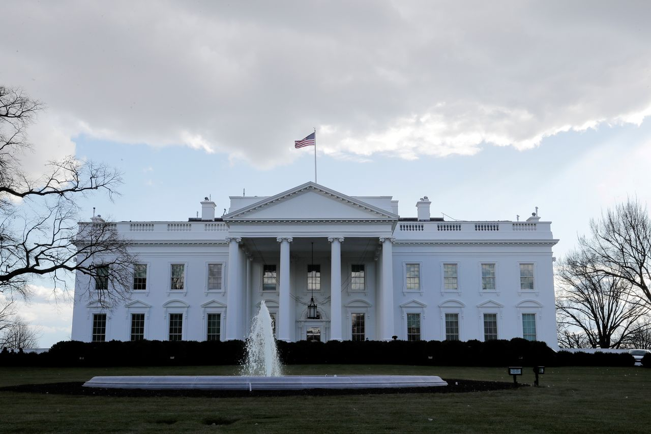 FILE PHOTO: A view of the White House in Washington, U.S. January 18, 2021. REUTERS/Jim Bourg/File Photo