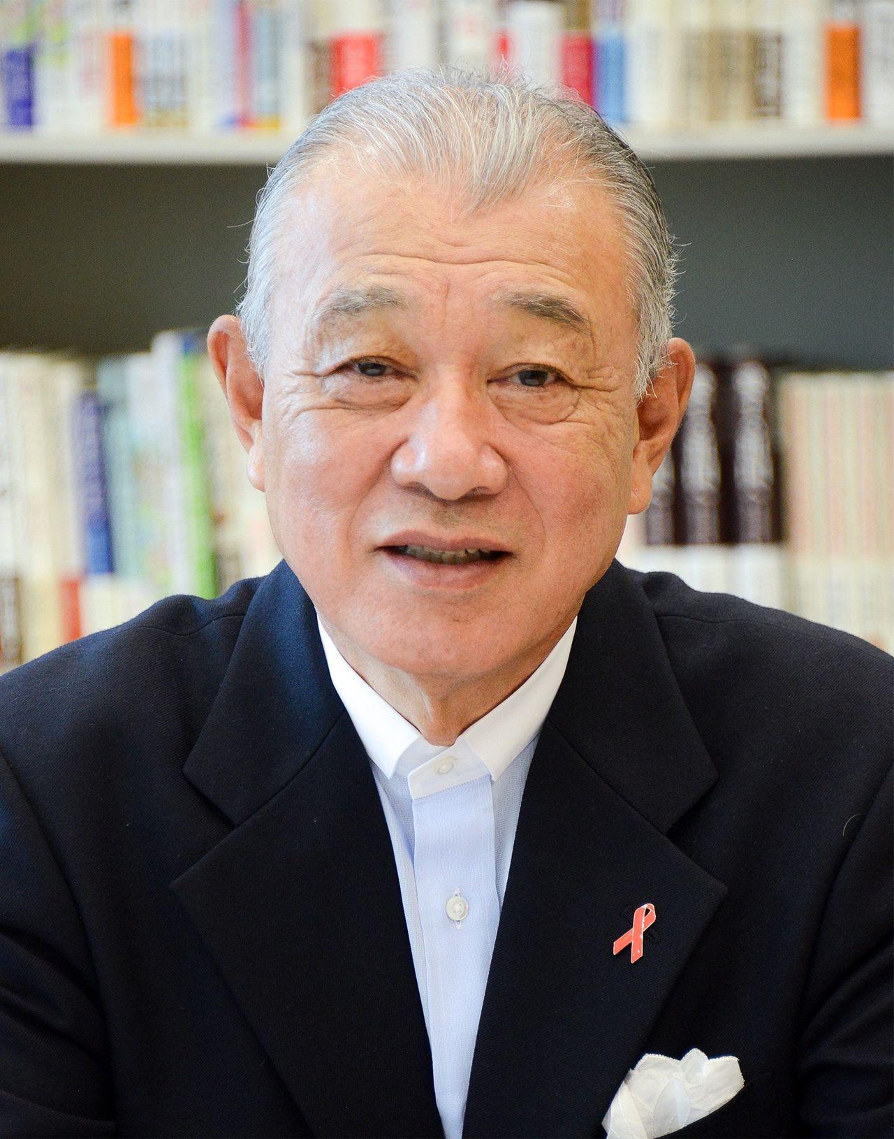 Nippon Foundation Chairman Sasakawa Yōhei.