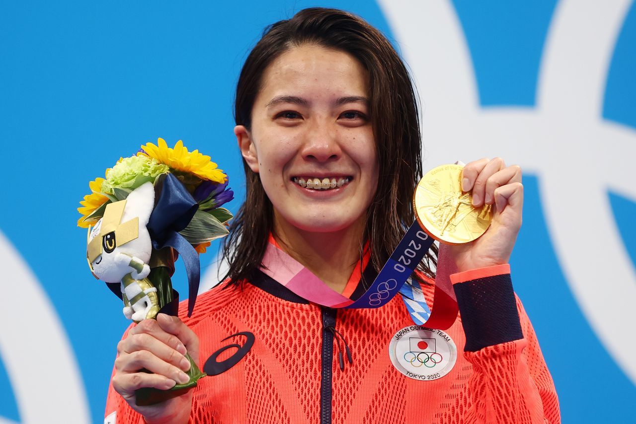 Olympics-Swimming-Japan's Ohashi ends winning streak of Hungary's 'Iron  Lady' with medley gold   Nippon.com