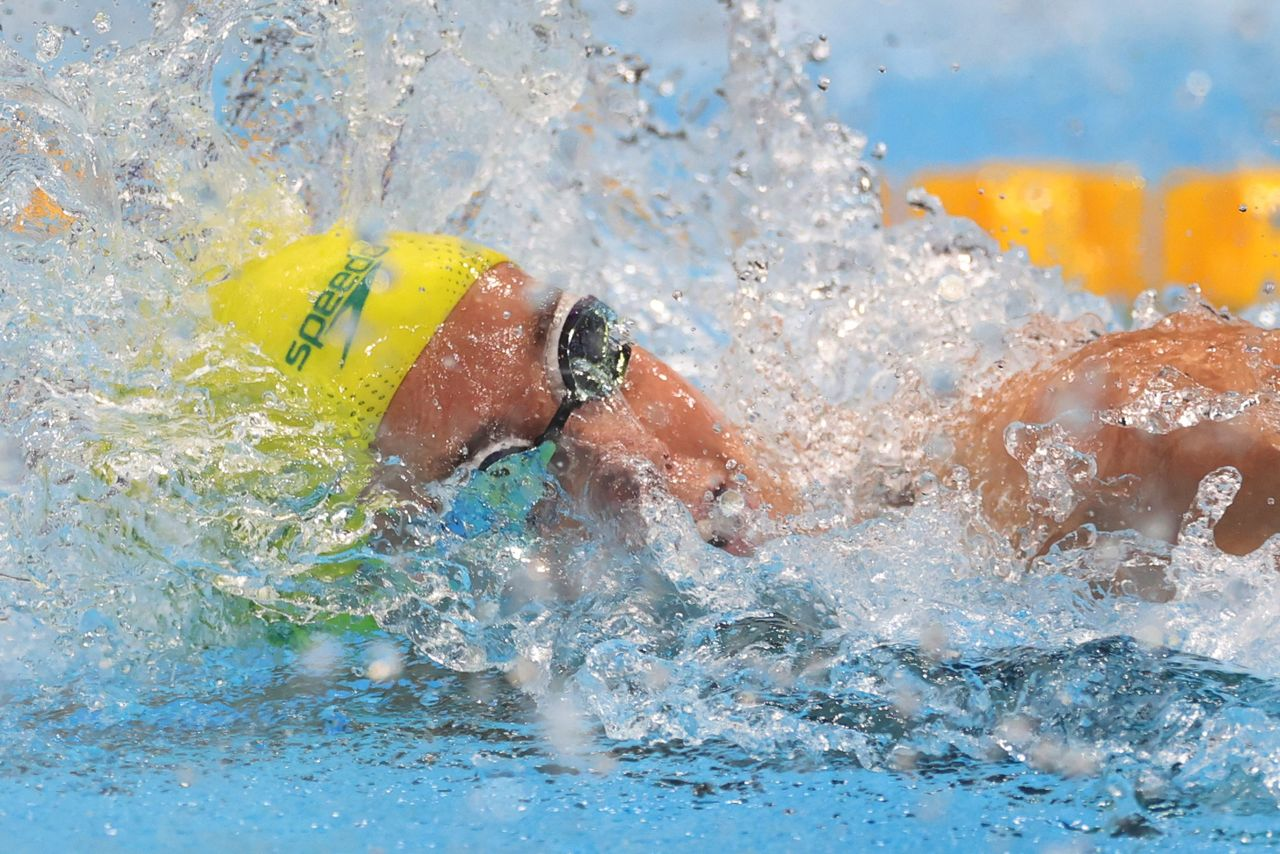 Olympics-Swimming-McKeon of Australia wins women's 100m ...