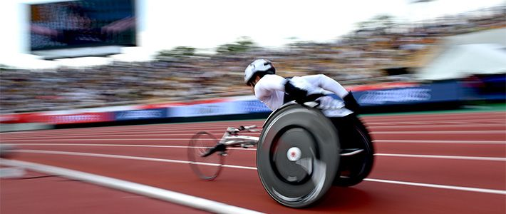 Paralympic Athletes, Up Close and Personal |
