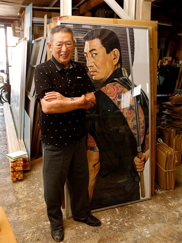 Japan S Movie Theater Sign Painter Star Power In Acrylic
