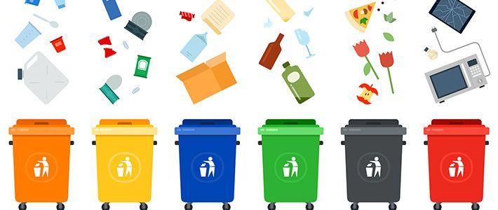 Cómo separar y sacar correctamente la basura en Japón