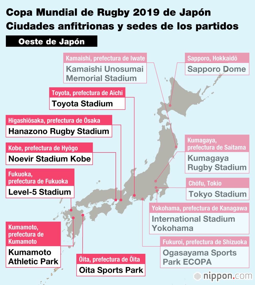 Calendario Mundial Rugby 2019.La Copa Mundial De Rugby 2019 Las Ciudades Y Sus Estadios