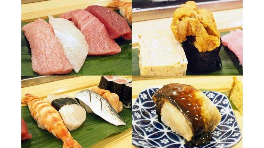 Los mejores lugares para comer sushi 'Edomae' en el mercado de Toyosu