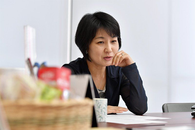 Lawyer Tagusari Maiko.