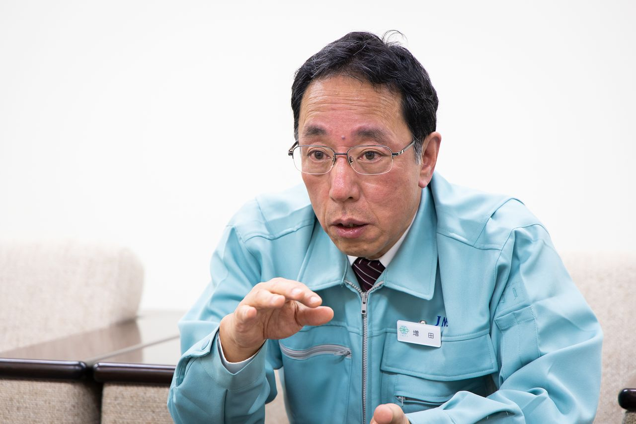 Masuda Naohiro, actual presidente de Japan Nuclear Fuel Limited, era el director general de Fukushima Dai-ni en el momento del accidente.