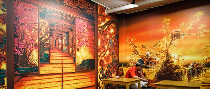 IkebukuroEn Hostel Un Atmósfera Samurais Juego De TokioLa nO80kPw