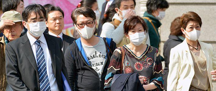 masque japonais anti pollution