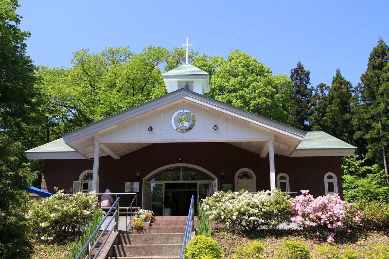 Le Musée du Village du Christ dans le Parc du Village du Christ. (Avec l'aimable autorisation de l'Association touristique de la préfecture d'Aomori)