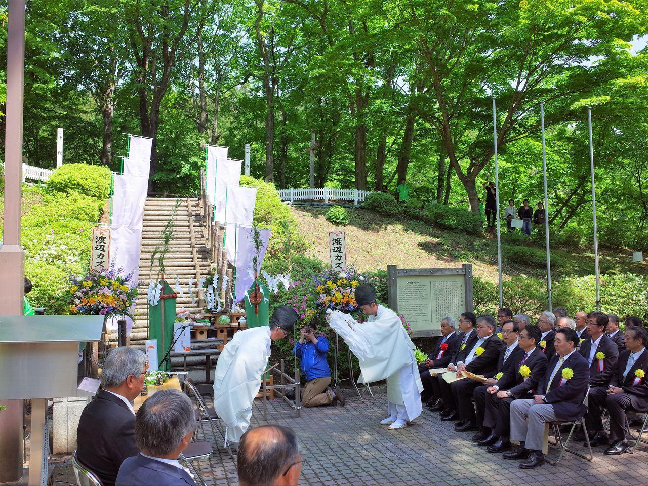 Le Festival du Christ a lieu tous les ans en été (avec l'aimable autorisation d'Okamoto Ryôsuke).