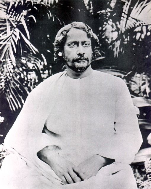 Rabindranath Tagore (Photo avec l'aimable autorisation de l'Université d'Ibaraki)