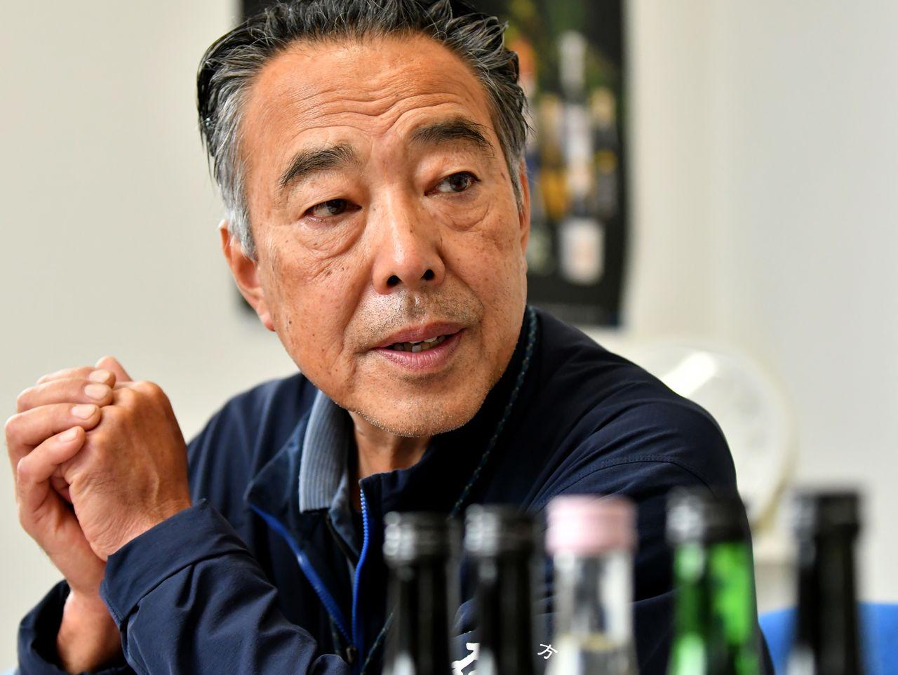 Satô Kazunori, président de la brasserie Yamatogawa Shuzô