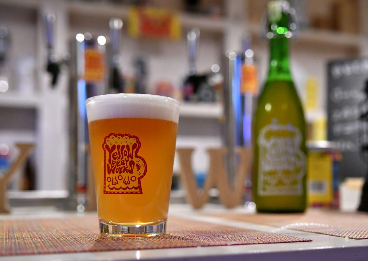 De nombreuses bière pression présentent une couleur trouble.