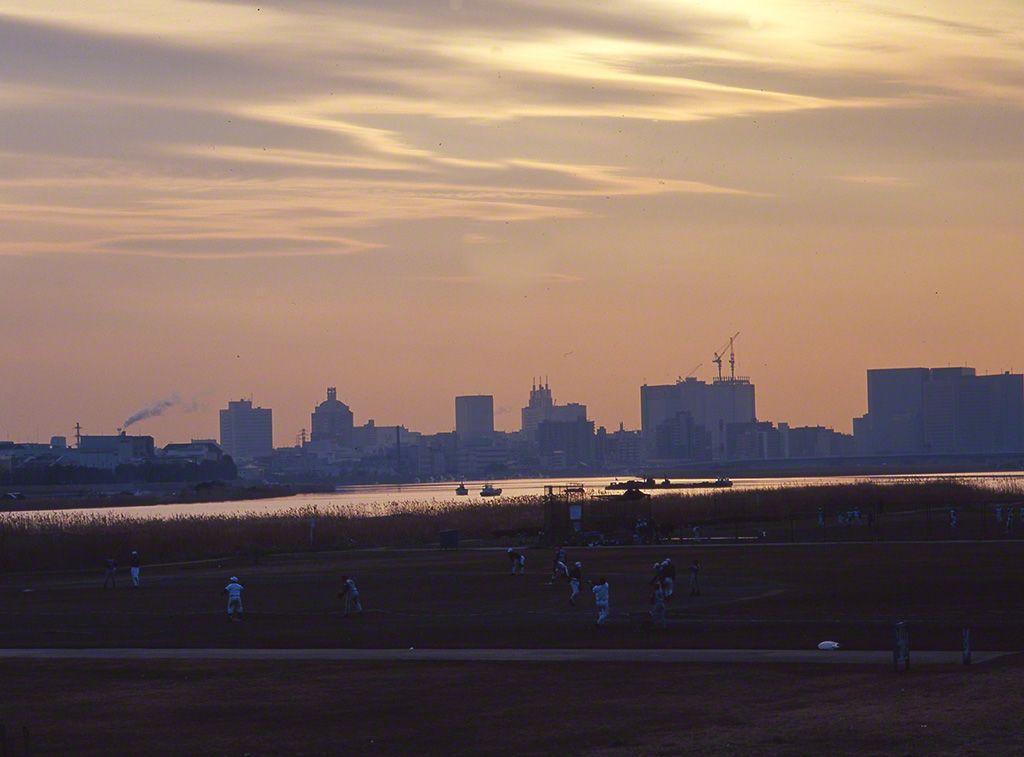 多摩川(攝影地:東京都)