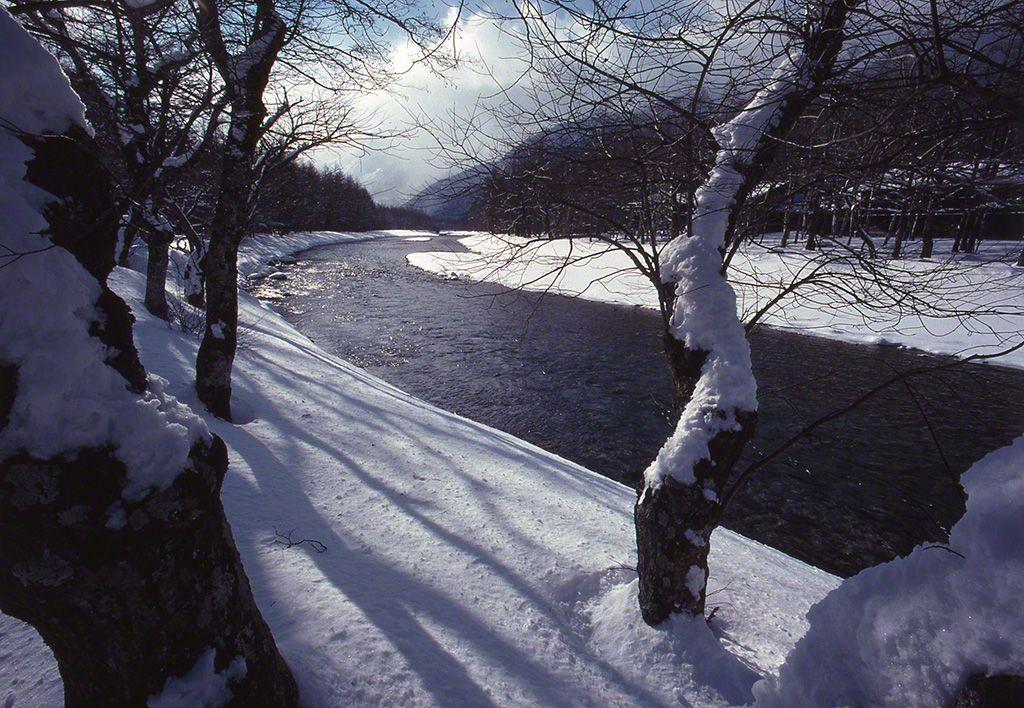 梓川(攝影地:長野縣)